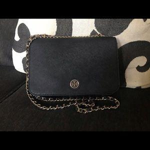✅Tory Burch - Black Mercer Crossbody/Shoulder Bag!